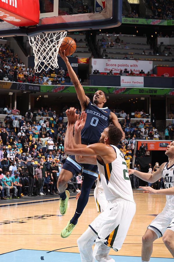 2021 NBA Playoffs - Utah Jazz v Memphis Grizzlies Photograph by Joe Murphy