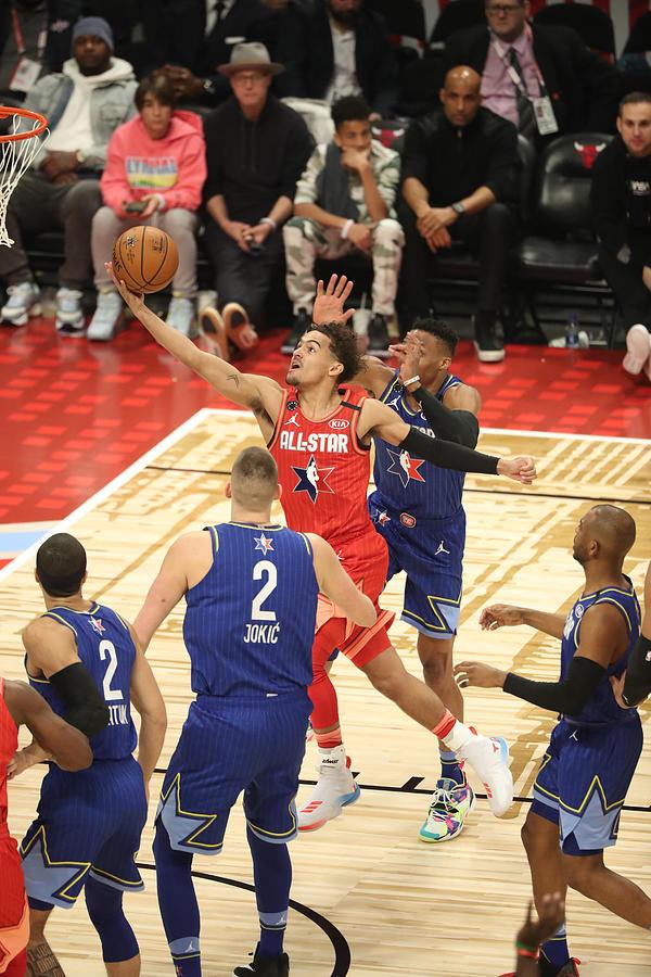 69th NBA All-Star Game Photograph by Joe Murphy