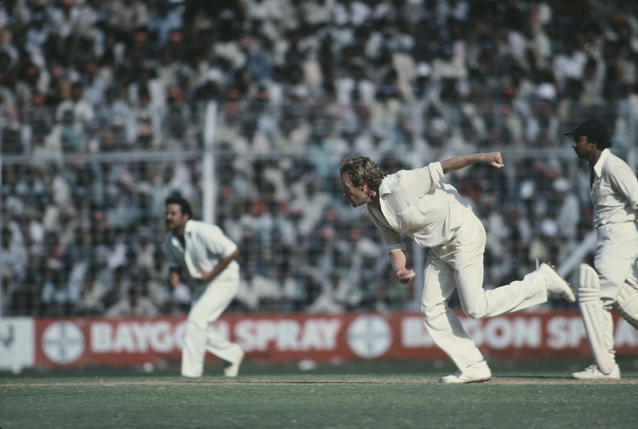 6th Test In Mumbai Photograph by Adrian Murrell
