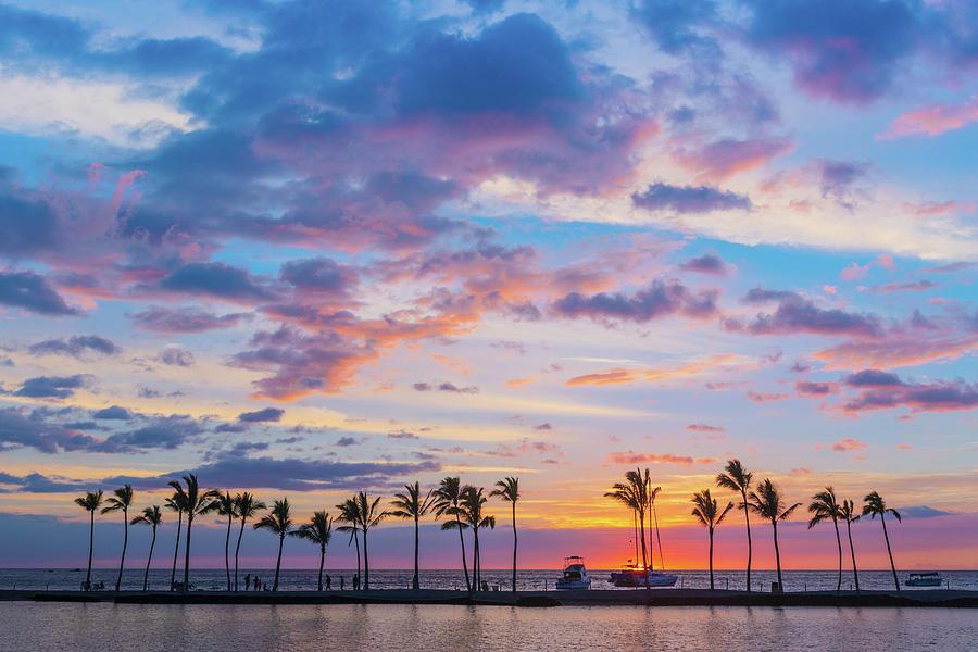 A Bay Sunset Photograph