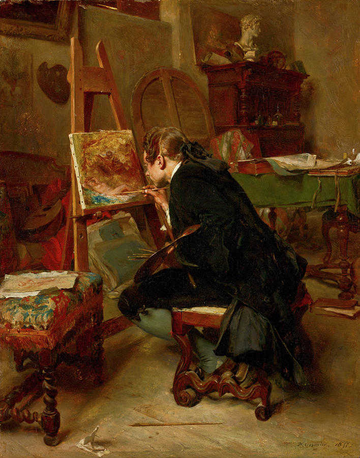 A Painter by Ernest Meissonier