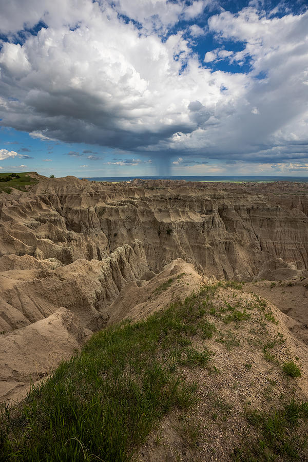 Badlands Photograph - A Place for My Head by Aaron J Groen