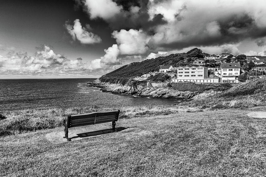 A View Over Limeslade Bay Photograph