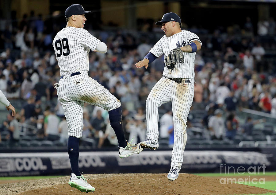 Aaron Judge And Gleyber Torres Photograph by Elsa