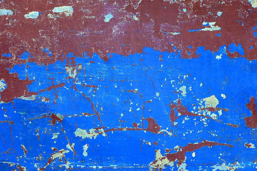 Abstract Background, Colorful Of Steel Rusty Texture Background, Steel Rust Surface Old Rustic Steel Plate Painted Color Photograph