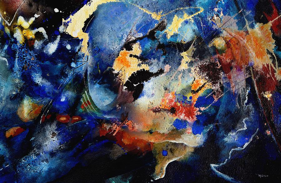 abstract improvisation by Wolfgang Schweizer