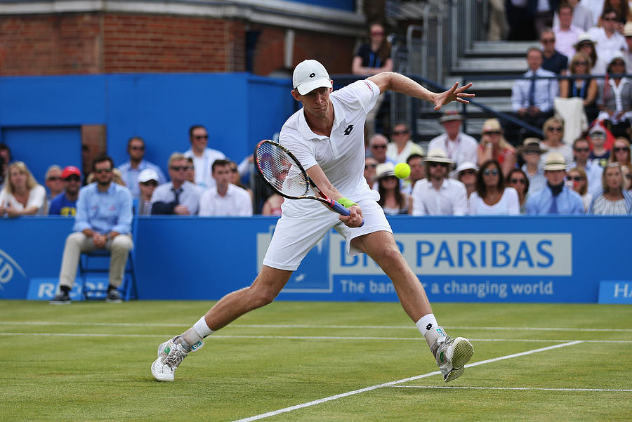 Aegon Championships - Day Three Photograph by Clive Brunskill