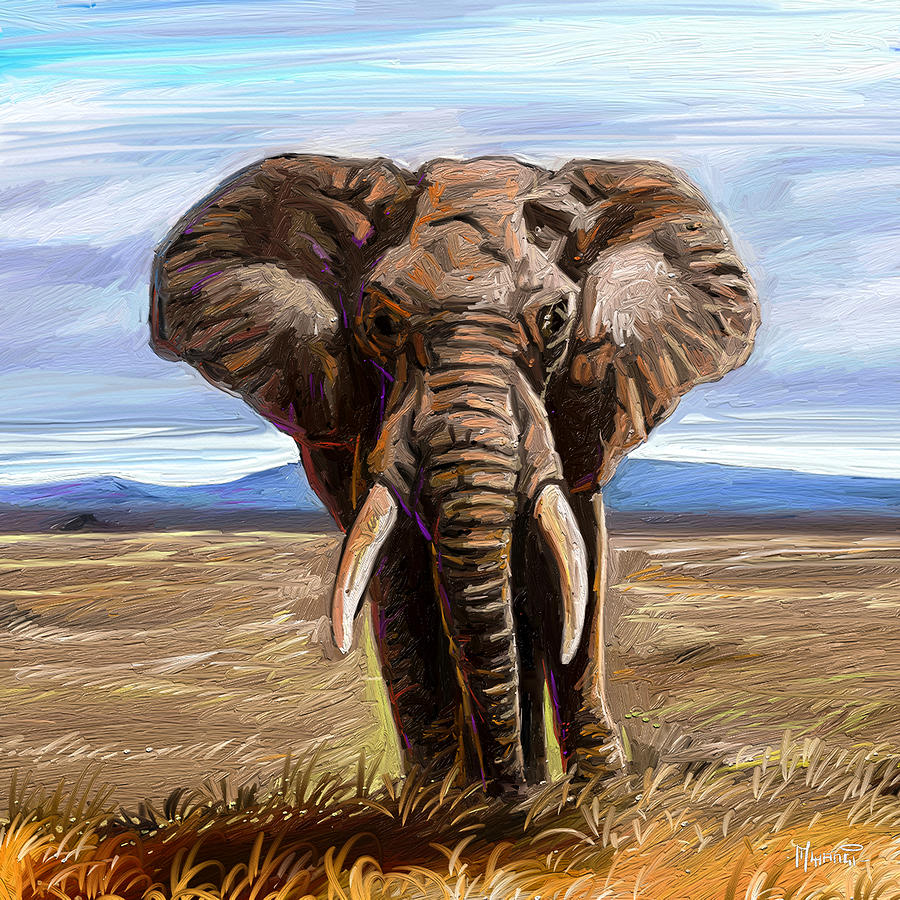 African Giant Painting