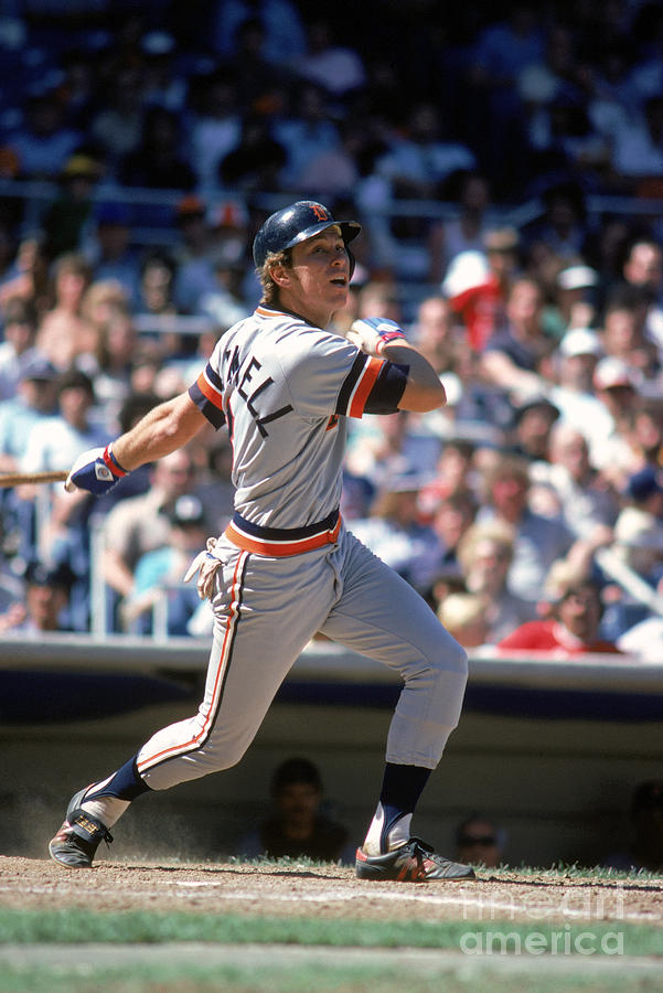 Alan Trammell Photograph by Rich Pilling