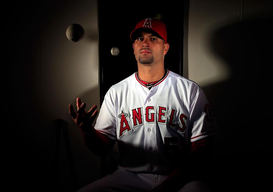 Albert Pujols Photograph by Jamie Squire