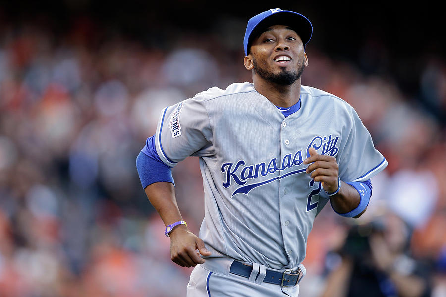 Alcides Escobar Photograph by Ezra Shaw