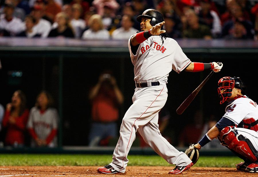 ALCS: Boston Red Sox v Cleveland Indians - Game 5 Photograph by Gregory Shamus