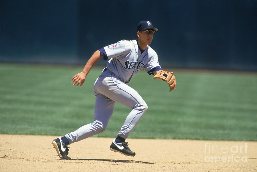 Alex Rodriguez Photograph by Brad Mangin