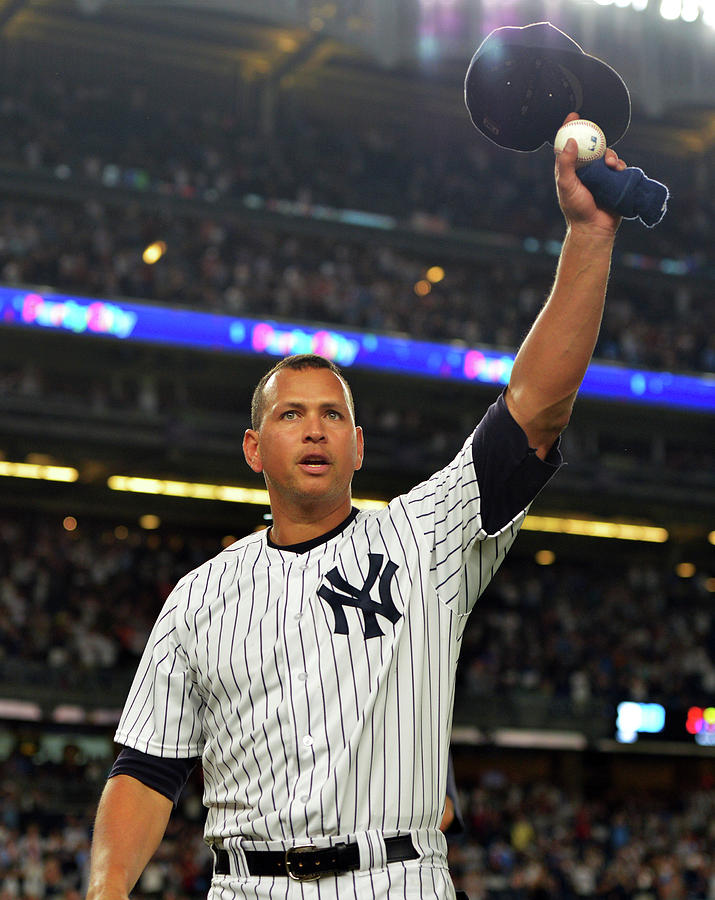 Alex Rodriguez Photograph by Drew Hallowell