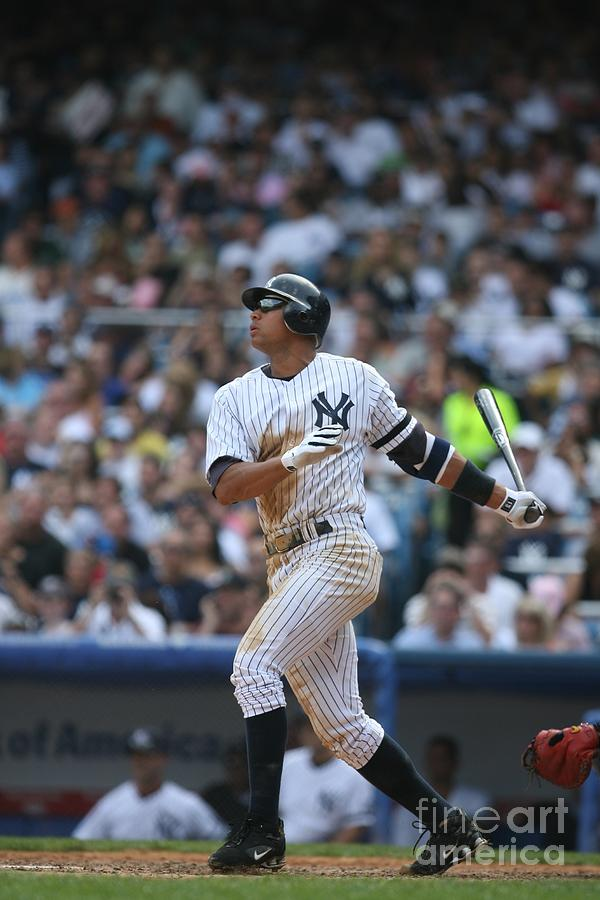 Alex Rodriguez Photograph by Rich Pilling
