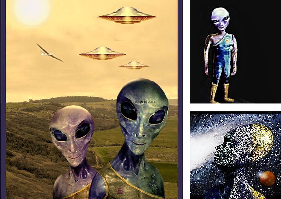 Aliens by Hartmut Jager
