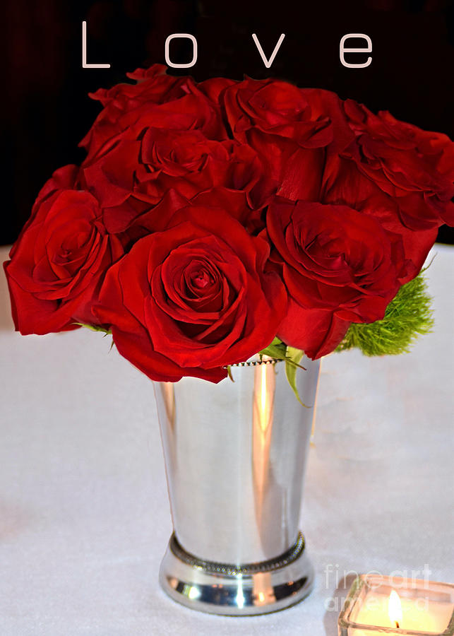 American Beauty Love Red Roses Photograph