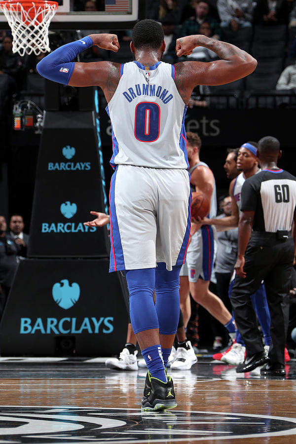 Andre Drummond Photograph by Nathaniel S. Butler