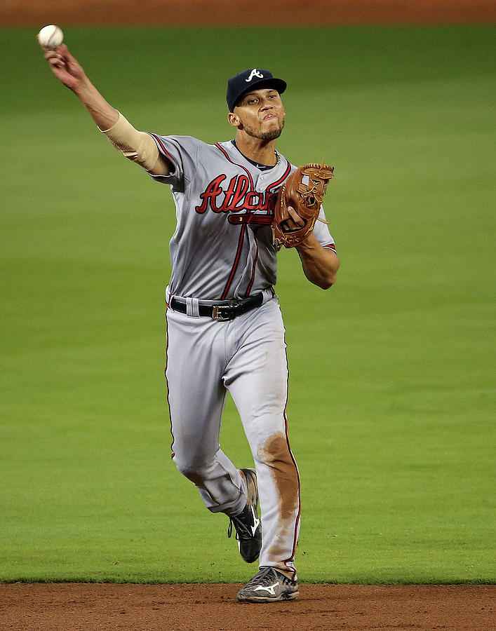 Andrelton Simmons Photograph by Mike Ehrmann