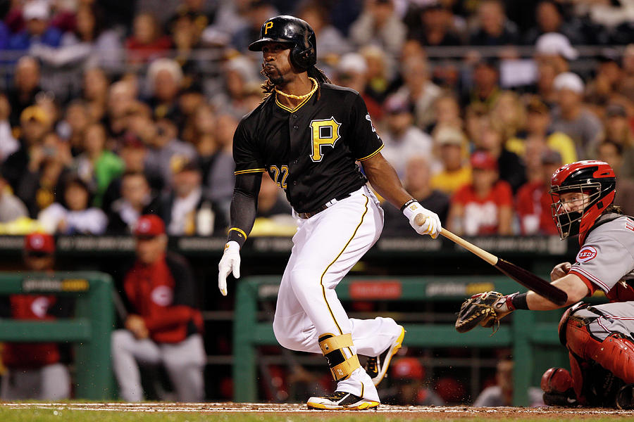 Andrew Mccutchen Photograph by David Maxwell