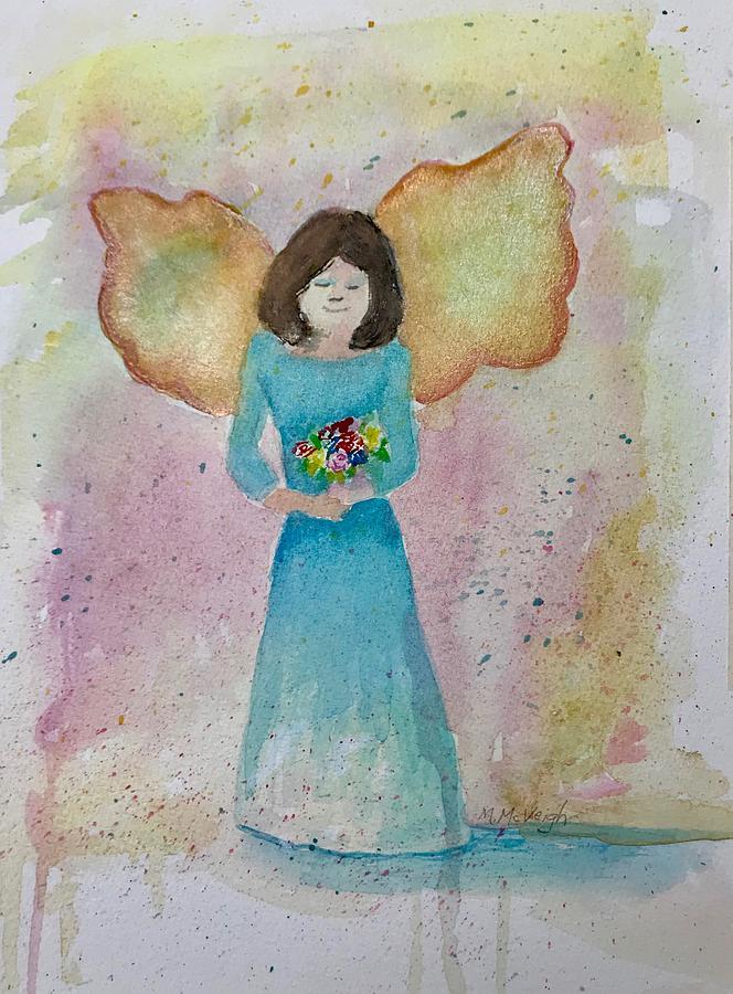 Angel Painting - Angel by Marita McVeigh