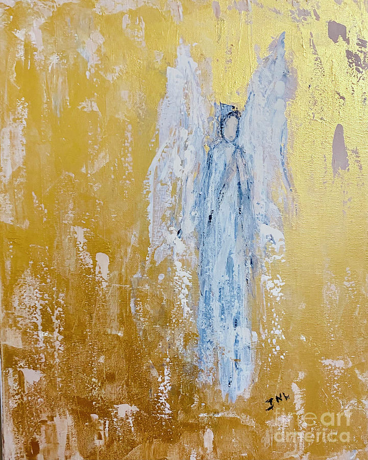 Angel Of Mercy Painting