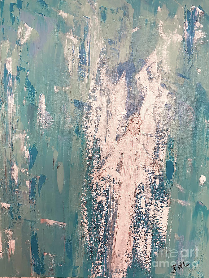 Angel Rejoicing Painting