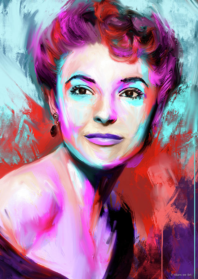 Anne Bancroft Painting
