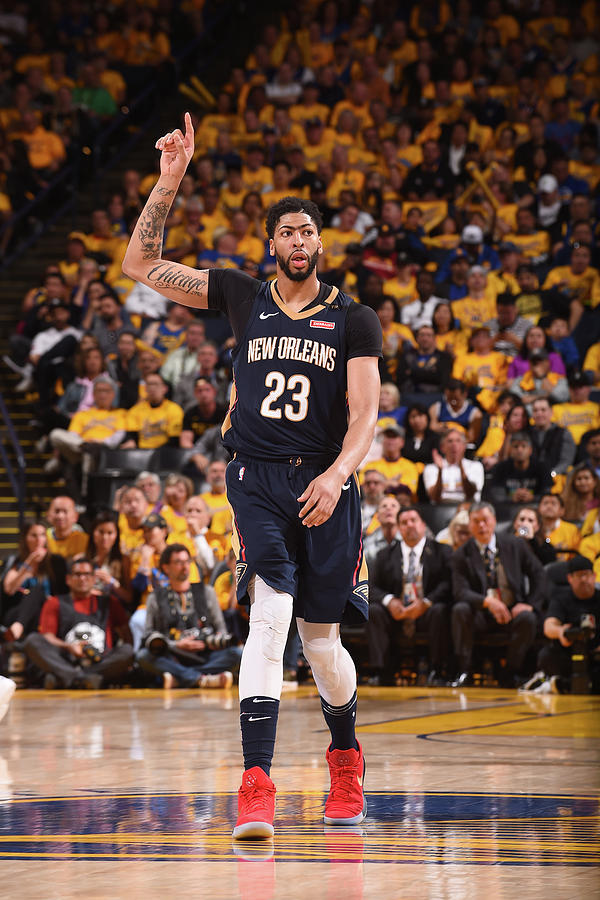 Anthony Davis Photograph by Noah Graham