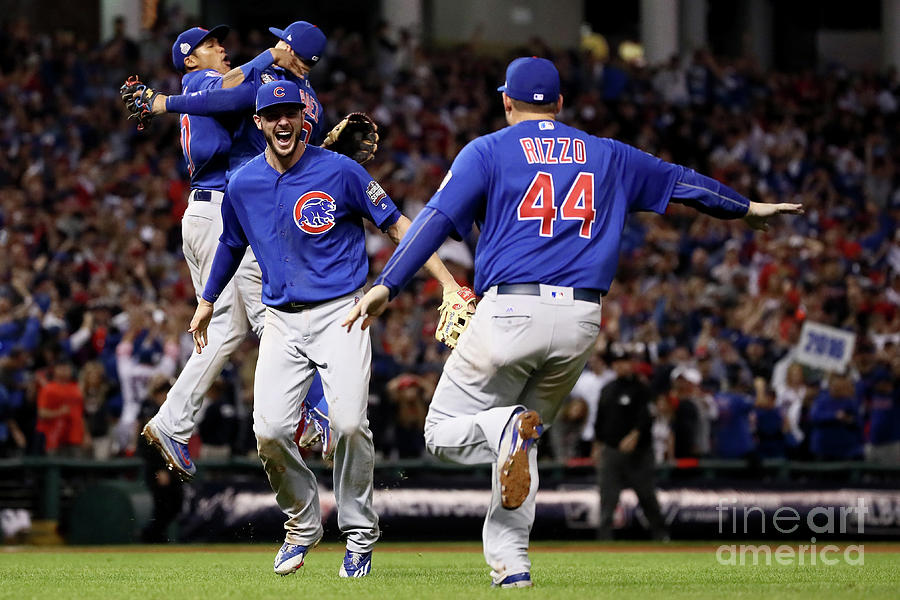 Anthony Rizzo And Kris Bryant Photograph by Ezra Shaw