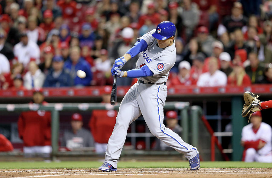 Anthony Rizzo Photograph by Andy Lyons