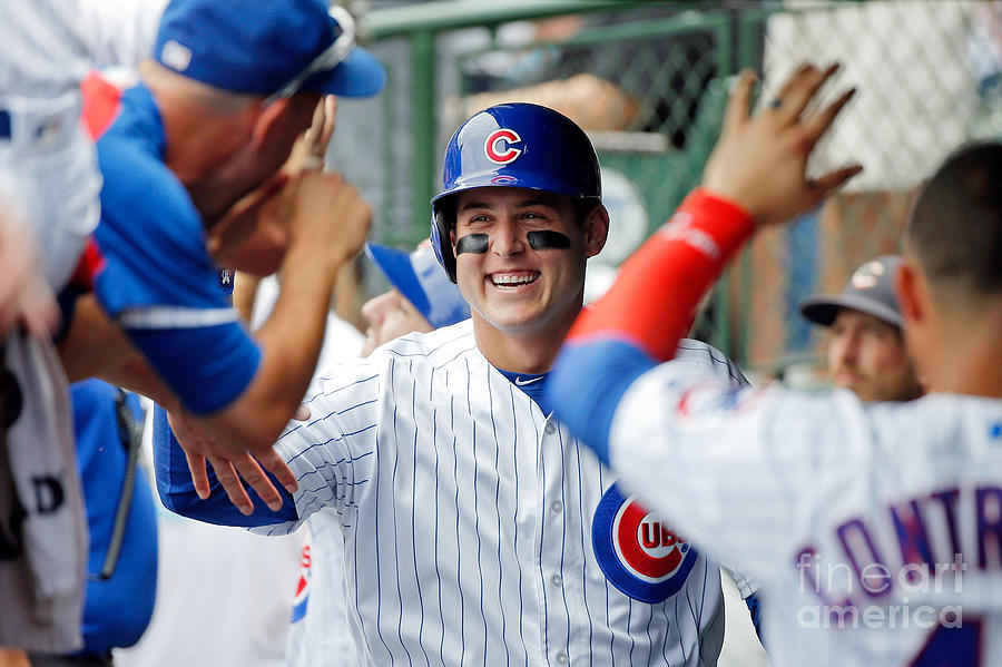 Anthony Rizzo Photograph by Jon Durr
