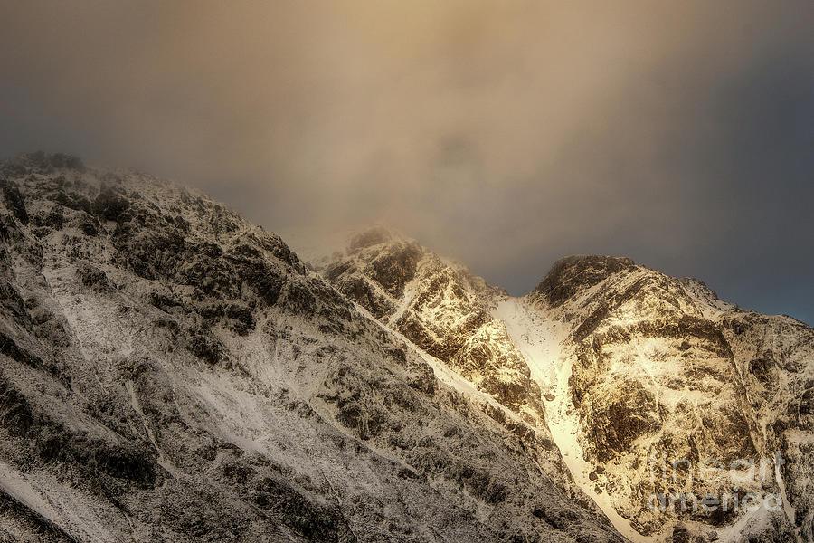 Aonach Eagach Ridge Photograph