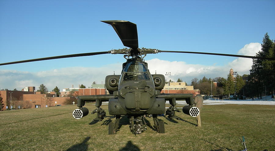 Apache helicopter by Jean Evans