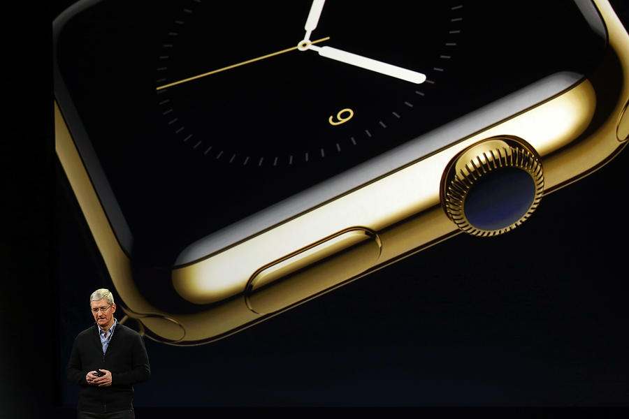 Apple Debuts New Watch Photograph by Stephen Lam