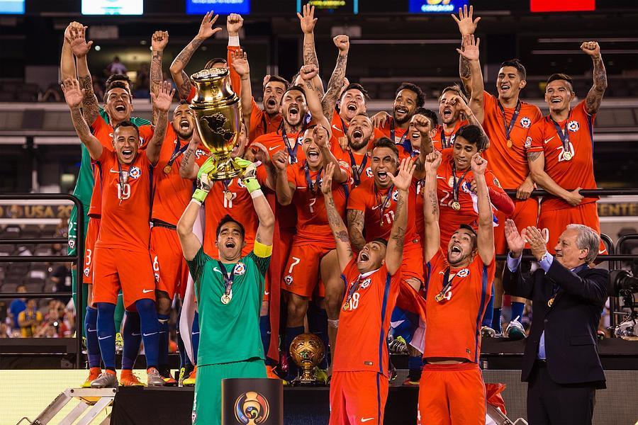 Argentina v Chile: Championship - Copa America Centenario Photograph by Anadolu Agency