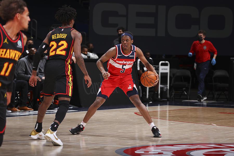 Atlanta Hawks v Washington Wizards Photograph by Ned Dishman