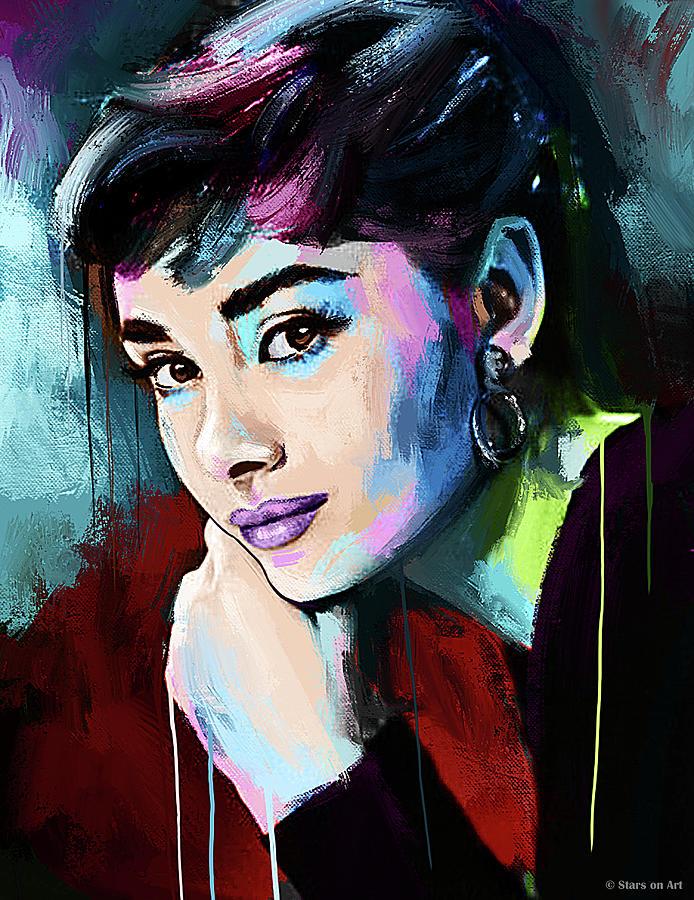 Audrey Hepburn Painting Painting
