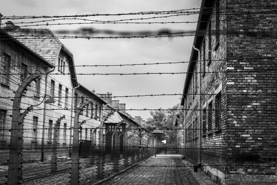 Auschwitz concentration camp. Photograph by VisualCommunications