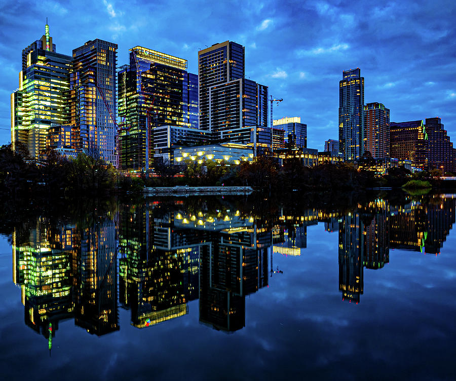 Austin City Lights Photograph