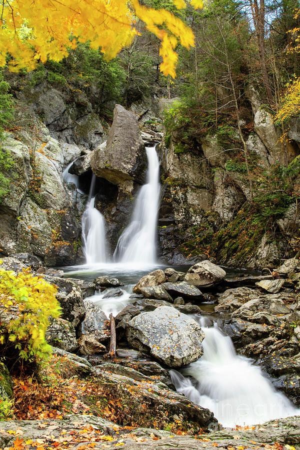 Autumn Bash Bish Falls Western Massachusetts  by Wayne Moran
