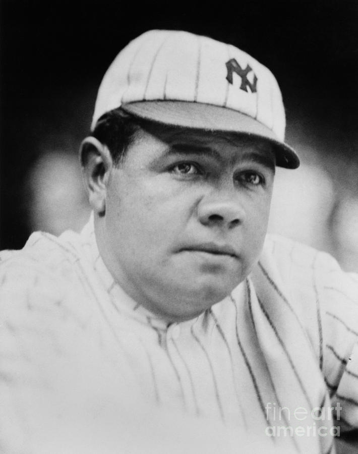 Babe Ruth Photograph by Mlb Photos