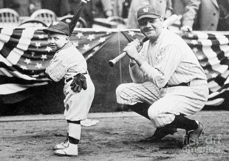 Babe Ruth Photograph by Transcendental Graphics