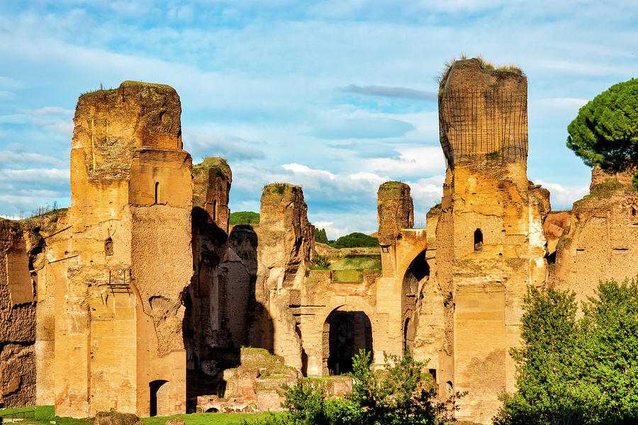 Baths of Caracalla by Fabrizio Troiani