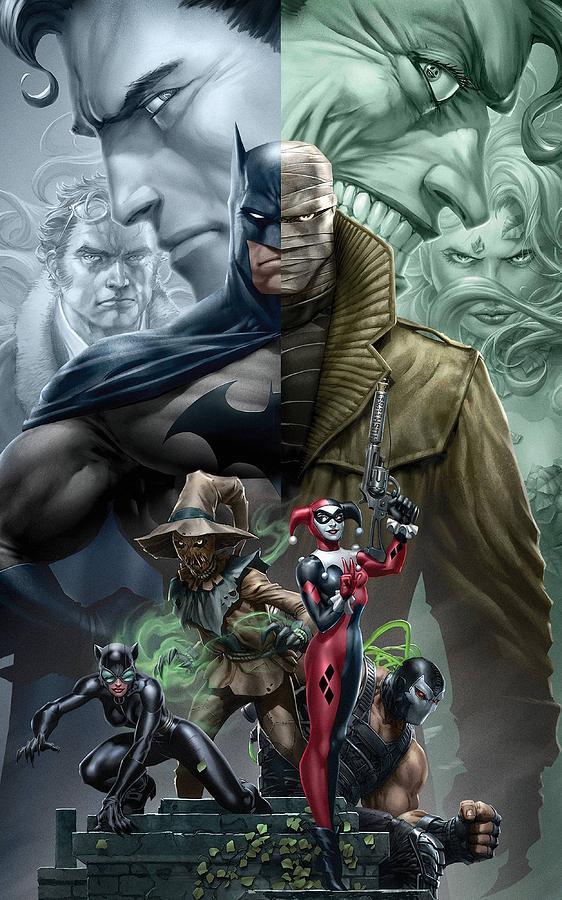 Batman Hush Digital Art By Geek N Rock