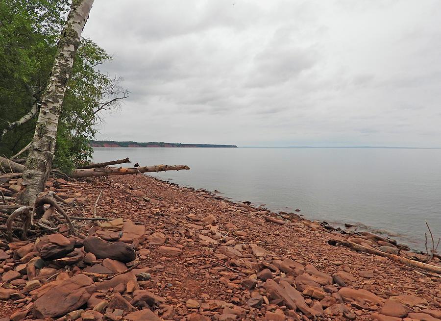 Beach Of Rocks Photograph