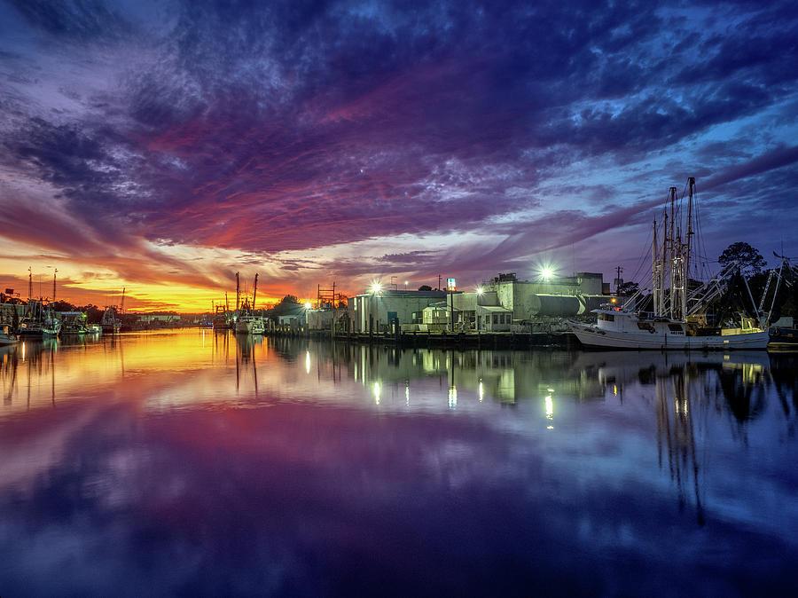 Beautiful Bayou Sunset by Brad Boland