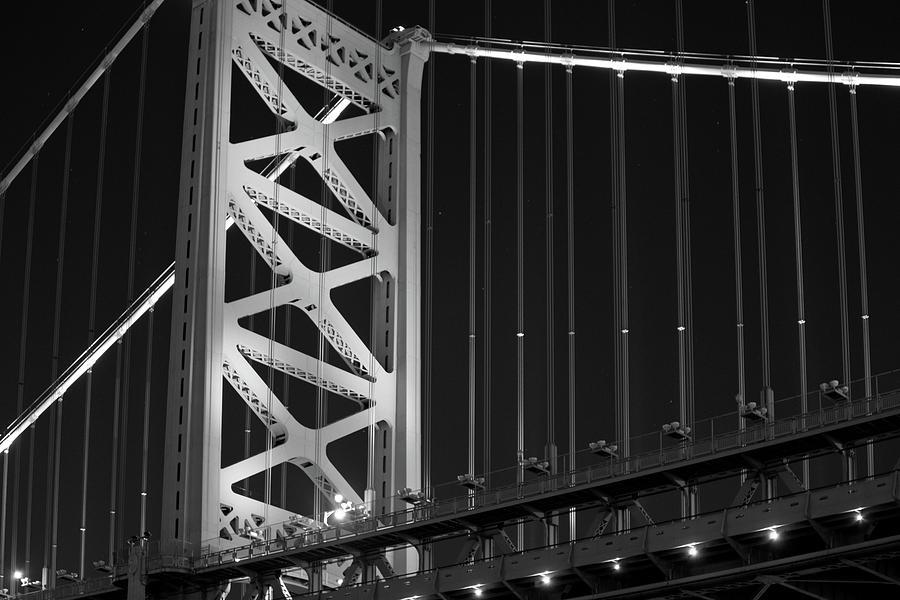 Ben Franklin Bridge by Louis Dallara