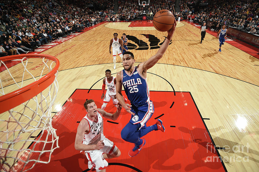 Ben Simmons Photograph by Ron Turenne