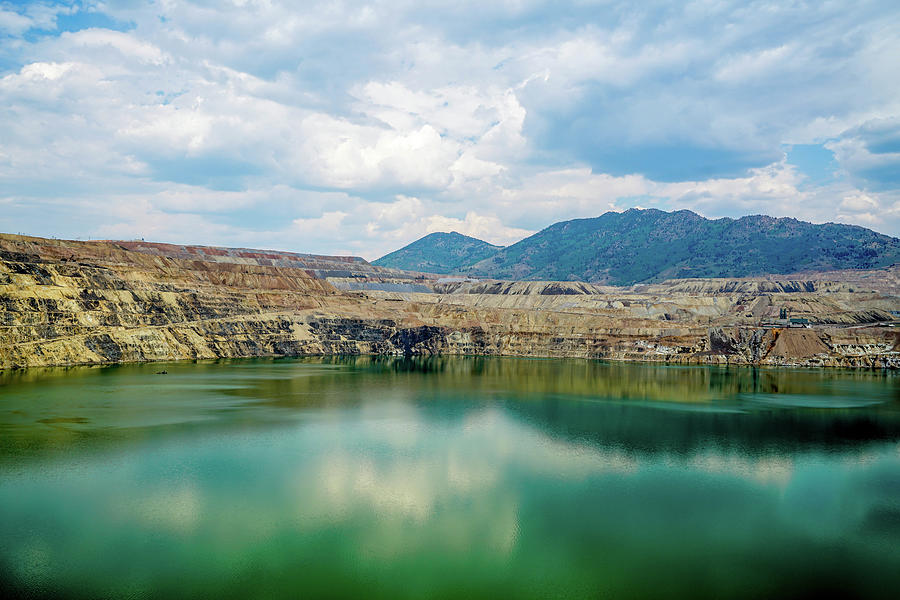 Architecture Photograph - Berkeley Pit by Ric Schafer